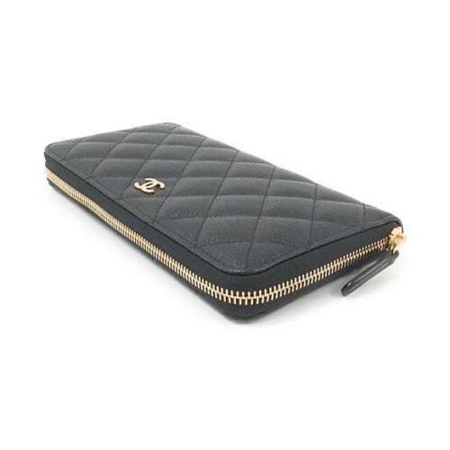 Authentic CHANEL Wallet 50097  #260-002-345-4729