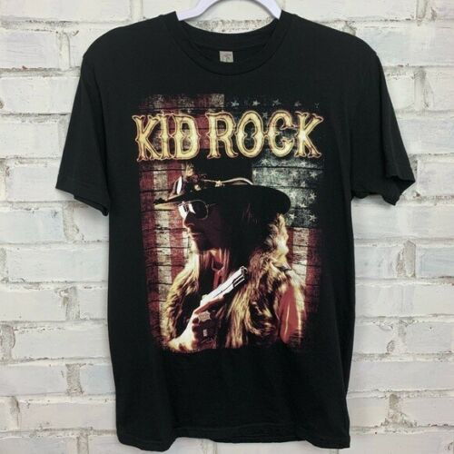 KID ROCK Atlanta 4/22/2016 UNISEX Black XL Shirt NEW/NEVER WORN!