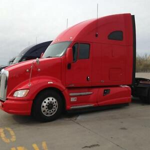 2012 KENWORTH T700 WITH APU UNIT INSTALLED