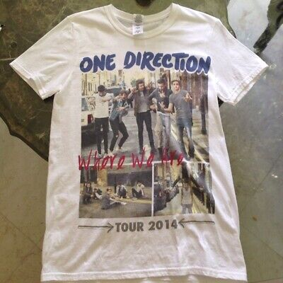 One Direction 2014 Where We Are tour t shirt Funny Vintage G