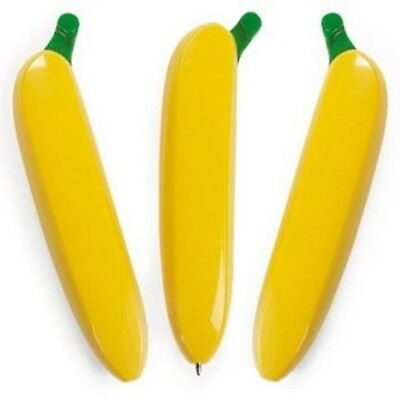 LOT OF 3 BANANA PENS FOR YOUR MONKEY PARTY,  LOW PRICE SUPER FAST SHIPPING!!
