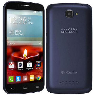 Alcatel One Touch Fierce 2 7040T - 4GB - Navy Blue (T-Mobile) Smartphone (A) on Rummage