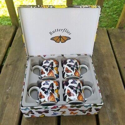 Cardew Design England Butterfly 12oz Mug Gift Set