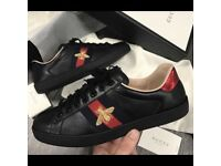 Gucci ace embroidered shoes