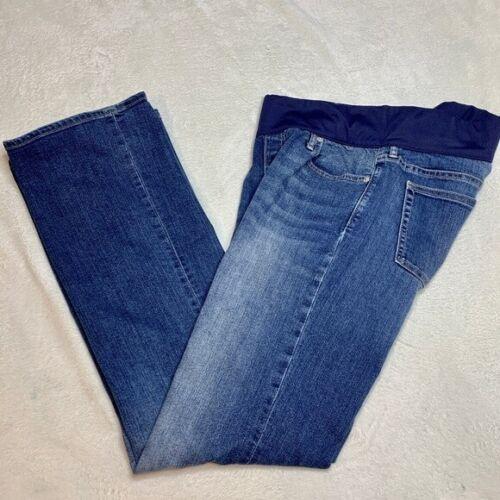 Gap Maternity Long and Lean Medium Wash Jeans-Women