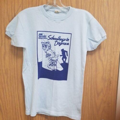The Kinks Vintage 1975 Schoolboys in Disgrace vintage  T-Shirt size Med