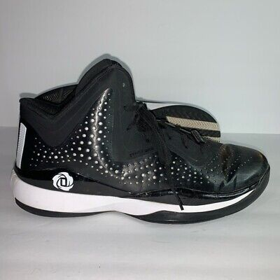 Mens Adidas D Rose 773 III Core Basketball Shoes Black White C75721 Size 9