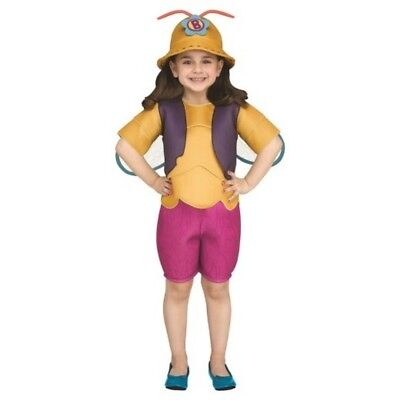 Beat Bugs Netflix Buzz Toddler Girls Boys Halloween Costume Cosplay Size 3T/4T