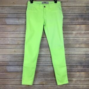 Neon green hollister jeans