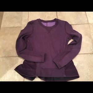 Lululemon Ruffle up Pullover size 4