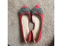 Never worn JustFab shoes