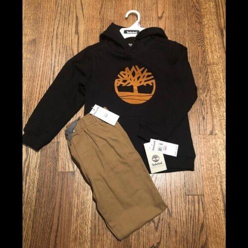 NWT, Boys Timberland Sweatshirt and Pants, size 6