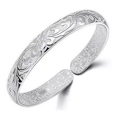Luxurious 925 silver paisley pattern adjustable. 25