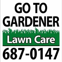Go To Gardener - Lawn mowing services