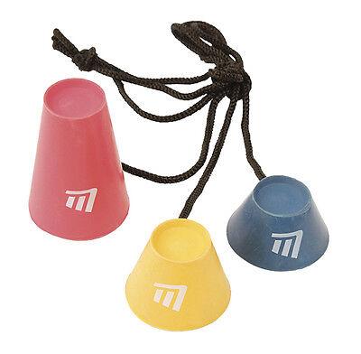 Gummi-Tee-Set / Gummitees im 3er Set für Golf-Matten oder gefrorenen Boden *NEU*