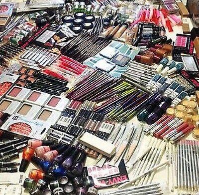 Job Lot Of 50 Make Up Items - Eyeshadow - Lip Stick - Nail Polish - Lots More