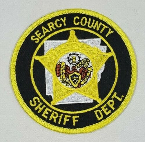 SEARCY COUNTY ARKANSAS AK SHERIFF DEPARTMENT POLICE SHOULDER PATCH