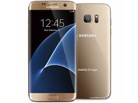 Samsung Galaxy S7 Edge - 32GB - Gold - Excellent condition.