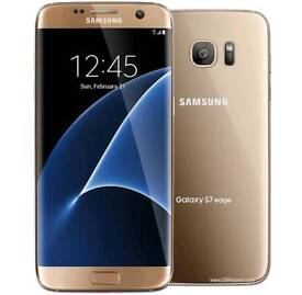 Samsung galaxy s7 edge gold unlock 32 gb brand new condition