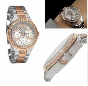 Guess watch - Two Tone- Rose Gold and Stainless steel