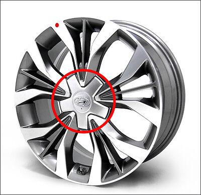 """Genuine OEM 18"""" Wheel Center Cap -1ea For 2015 2016+ Hyundai Sonata #52960 C1500"""