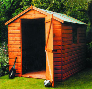 The Malvern Collection Bewdley Apex Garden Shed Delivered