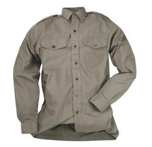 Shirt British Army Short Long Sleeve Mans Shirt Man&#039;s Tropical Stone Issue RAF - <span itemprop='availableAtOrFrom'>Czestochowa, Polska</span> - Zwroty są przyjmowane - Czestochowa, Polska