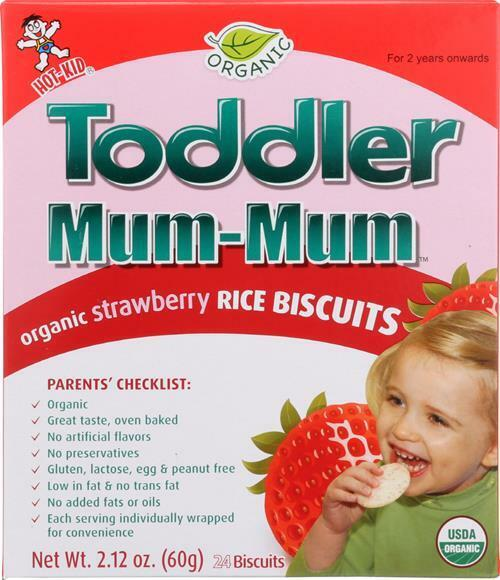 Hot Kid-Toddler Mum - Strawberry, Pack of 6 ( 2.12 OZ )