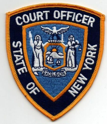 NEW YORK COURT OFFICER NICE PATCH SHERIFF POLICE