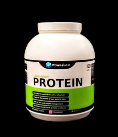 Fitness Local Lean Whey Protein 2.25kg Tubs