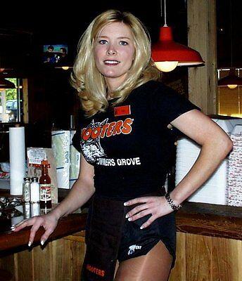 XXL Hooters Uniform Sturgis Shirt  Dolfin Logo Shorts Name Tag Socks Q Tights](Big Lots Costumes)