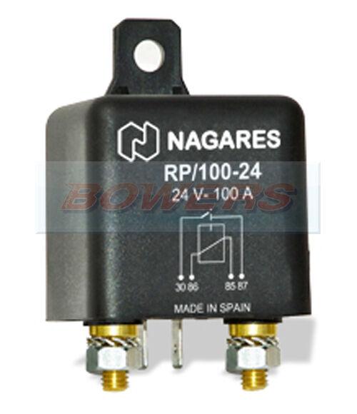 NAGARES RLAC//4-24 4 PIN 24V 40A HIGH PERFORMANCE HD NORMALLY OPEN MINI RELAY