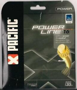 PACIFIC POWER LINE 16 TENNIS STRING SET - 4.SETS PACK -