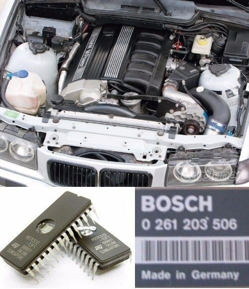 20Hp ECU DME 0261200173 Power Chip Tuning for BMW e30 e34  325i 525i