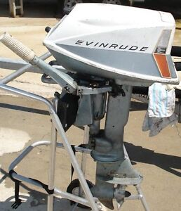 1961 5.5hp Evinrude part out