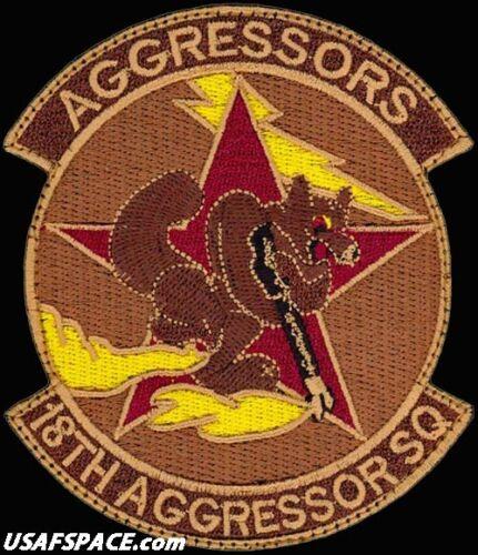 USAF 18th AGGRESSOR SQUADRON - F-16 - Eielson AFB, AK - ORIGINAL - DESERT PATCH