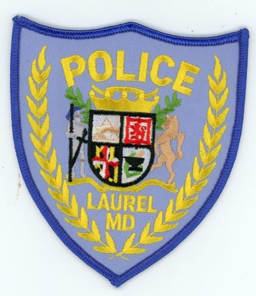 LAUREL POLICE MARYLAND MD PATCH SHERIFF COLORFUL