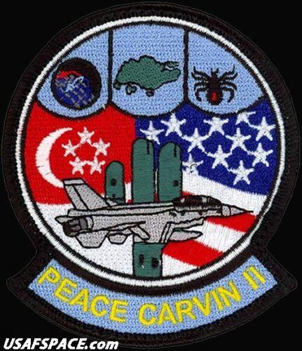 USAF 425TH FIGHTER SQUADRON -F-16- PEACE CARVIN II -Luke AFB, AZ- ORIGINAL PATCH