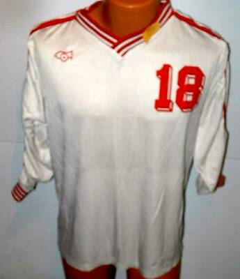 Cannon  Soccer Rugby   Team Gear jersey large white large # 18