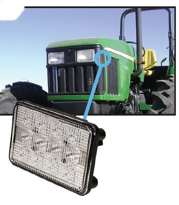 Fits John Deere 5000-5020 Series Tractor Hood Light Led Hilo Beam