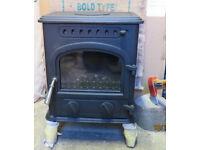 Cast Iron Coal/Log stove