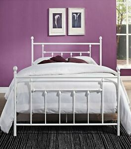 Double/Queen/King Brand New Quality Metal Bed Frame Black/White Clayton Monash Area Preview