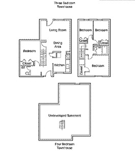 AVAILABLE NOW -- 3 Bedroom townhouse for RENT !!! $1474 /month Regina Regina Area image 4