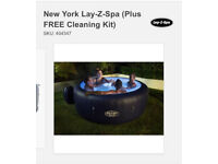 Brand new Sealed in box New York Lazyspa (free cleaning kit)