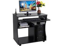 Computer desk (black)