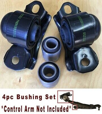 4pcSet Bushing fits for Infiniti G20 1999 2000 2001 2002 Front Lower Control - Infiniti G20 Control Arm