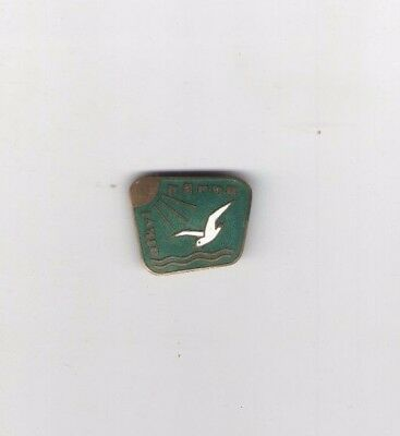 DOVE old pin Badge SOVIET Union  Russia  #3 pinback BIRD