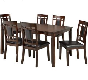 Aliya Brassex kitchen table (table only)