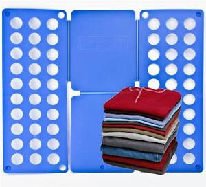 Kids Magic Clothes Folder T Shirts Jumbers Organiser Fold Laundry Suitcase