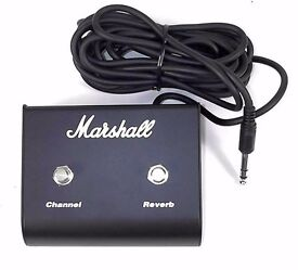 Marshall 2 way footswitch